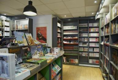 Agenceur de magasin - Librairie