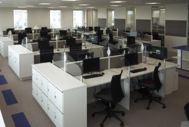 Agencement bureaux - Centre de relation clients