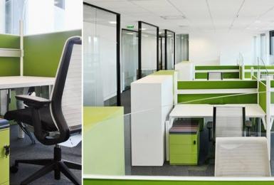 Agencement bureaux - Open space acoustique