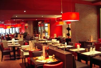 agencement restaurant club afiroc am nagement de restaurants caf et bar. Black Bedroom Furniture Sets. Home Design Ideas