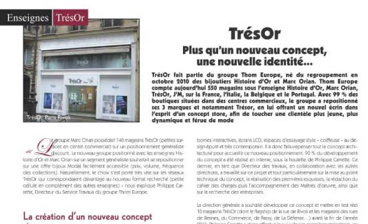 REPORTAGE Bijouetrie Tres'OR - Architecture et Innovation 2012