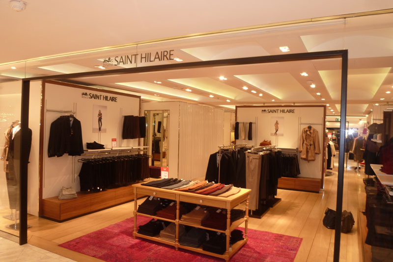 Boutique Bruno Saint-Hilaire SASO Agencement